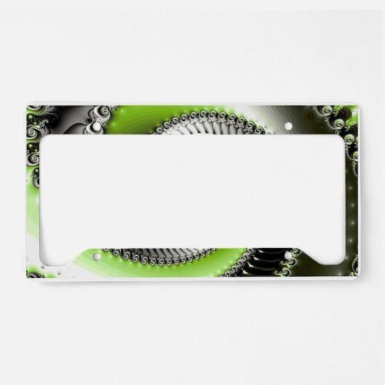Intervolve Lime License Plate Holder