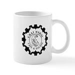 Graj Mahal Black On White Logo Mugs