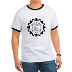 Graj Mahal Black On White Logo T-Shirt