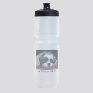 Cute Shih Tzu Dog Sports Bottle