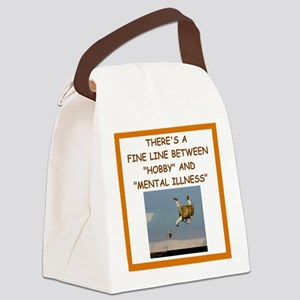 sky diving Canvas Lunch Bag