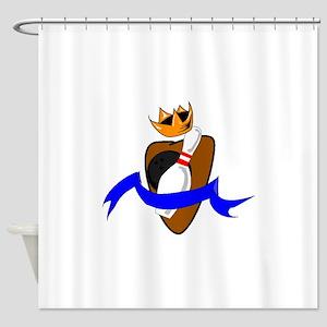 Kingpin Bowling Shower Curtain