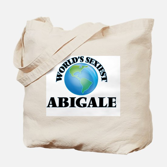 World's Sexiest Abigale Tote Bag