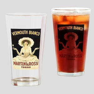 Vermouth Bianco; Vintage Art Drinking Glass