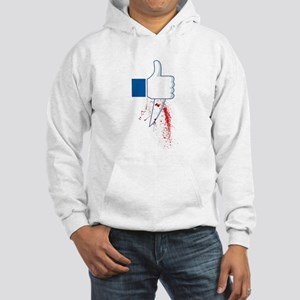 Facebook Like Hooded Sweatshirt
