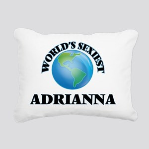 World's Sexiest Adrianna Rectangular Canvas Pillow