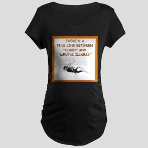 scuba diving Maternity T-Shirt