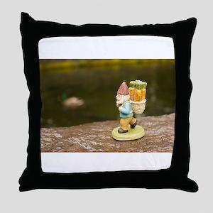 Ducky Roy Throw Pillow