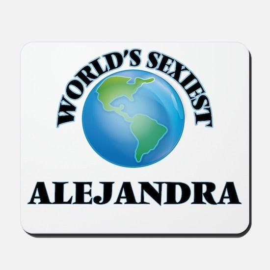 World's Sexiest Alejandra Mousepad