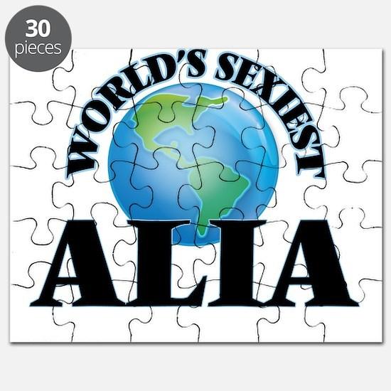 World's Sexiest Alia Puzzle
