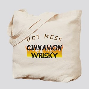 Hot Mess Cinnamon Whisky Tote Bag