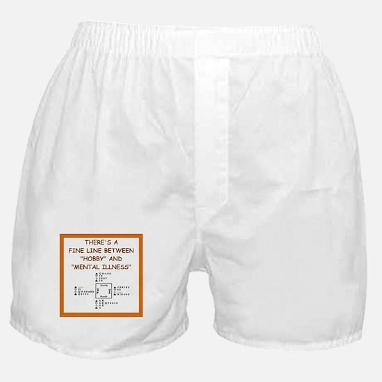 duplicate bridge Boxer Shorts