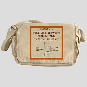 duplicate bridge Messenger Bag