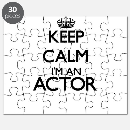 Keep calm I'm an Actor Puzzle