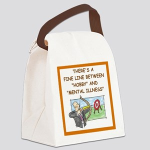 archery Canvas Lunch Bag