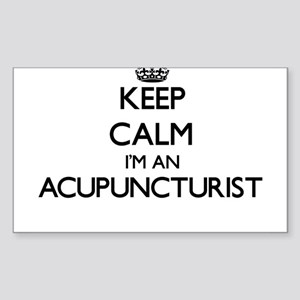 Keep calm I'm an Acupuncturist Sticker