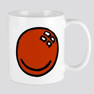 Red Bowling Ball Mugs