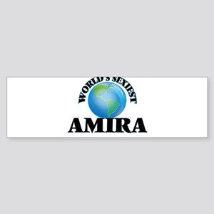 World's Sexiest Amira Bumper Sticker