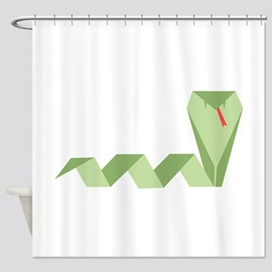 Chinese Snake Shower Curtain