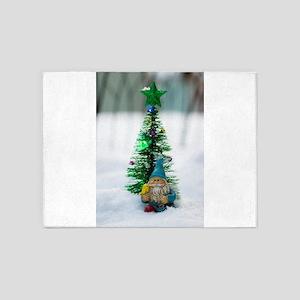 Little Gnome Tree 5'x7'Area Rug