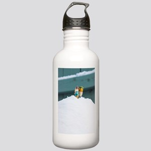 Snowy Travel Stainless Water Bottle 1.0L