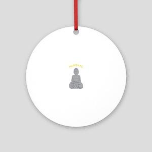 Meditate Ornament (Round)