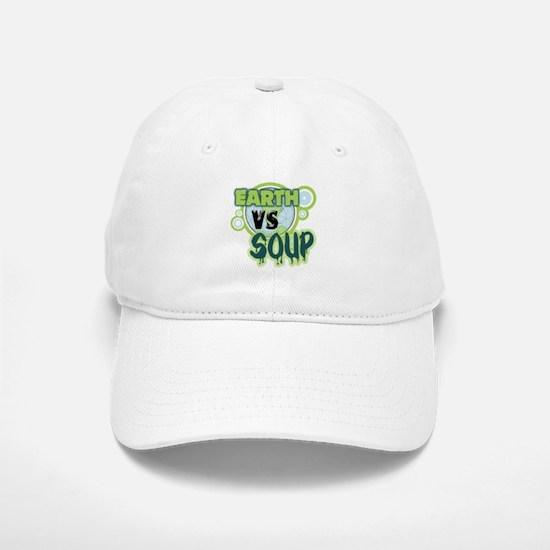 Earth VS Soup Baseball Baseball Cap