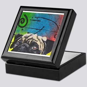 It's Puggy! Keepsake Box