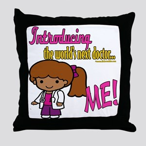 Future Doctor Throw Pillow