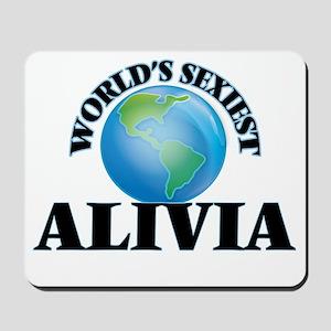 World's Sexiest Alivia Mousepad