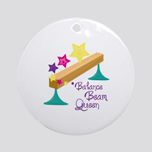 Balance Beam Queen Ornament (Round)