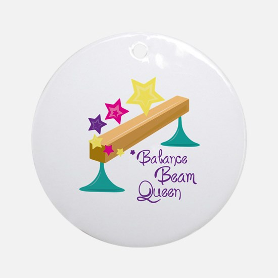 Balance Beam Queen Ornament (Round)
