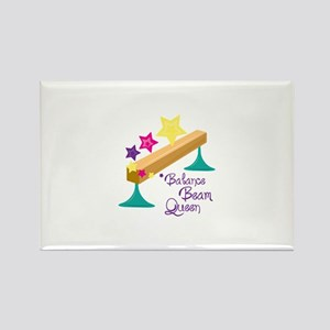 Balance Beam Queen Magnets