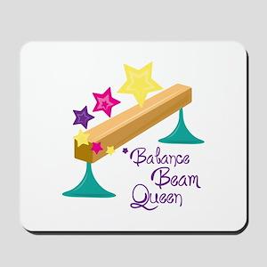 Balance Beam Queen Mousepad