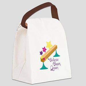 Balance Beam Queen Canvas Lunch Bag