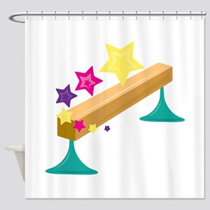 Balance Beam Shower Curtain