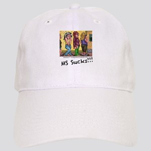 MS Sucks Bathroom Issues Baseball Cap