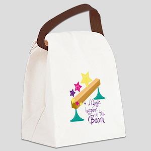 Magic Balance Beam Canvas Lunch Bag