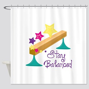 Stay Balanced Shower Curtain