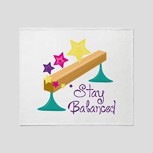 Stay Balanced Throw Blanket