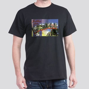 Greetings from michigan gifts cafepress greetings from michigan dark t shirt m4hsunfo