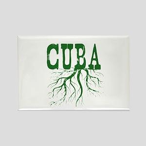Cuba Roots Rectangle Magnet