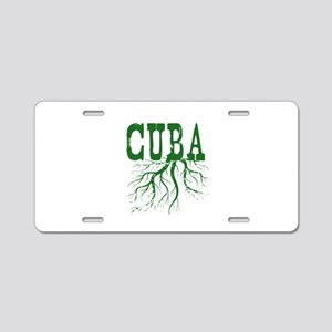 Cuba Roots Aluminum License Plate
