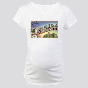 Greetings from Mississippi Maternity T-Shirt