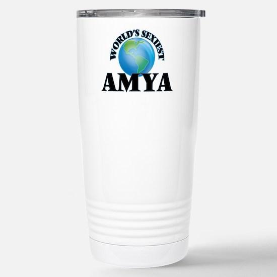 World's Sexiest Amya Stainless Steel Travel Mug