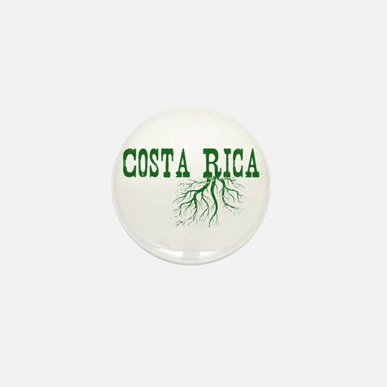 Costa Rica Roots Mini Button