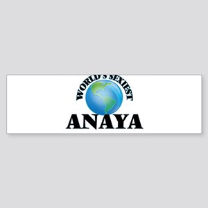 World's Sexiest Anaya Bumper Sticker