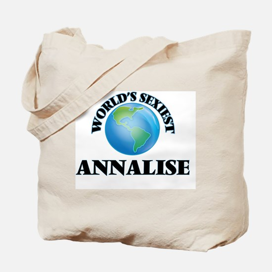 World's Sexiest Annalise Tote Bag