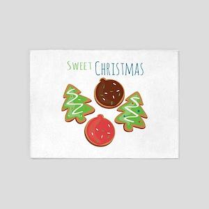 Sweet Christmas 5'x7'Area Rug