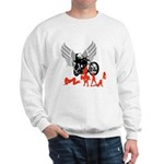 Sexy Biker Babes Sweatshirt